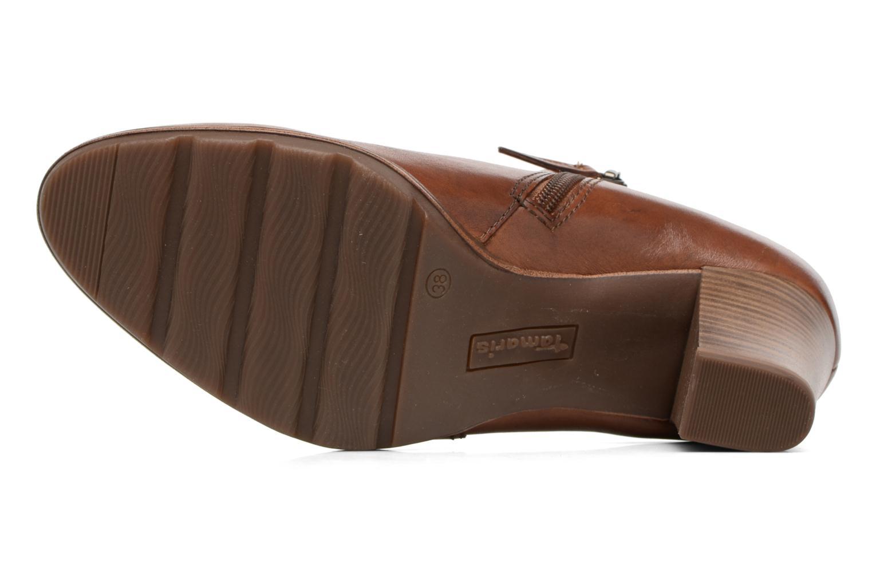 Bottines et boots Tamaris Imarune Marron vue haut