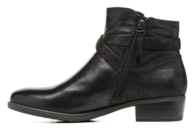 Boots en enkellaarsjes Tamaris Aldara Zwart voorkant
