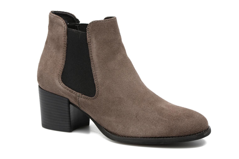 Bottines et boots Tamaris Bronweg Marron vue détail/paire