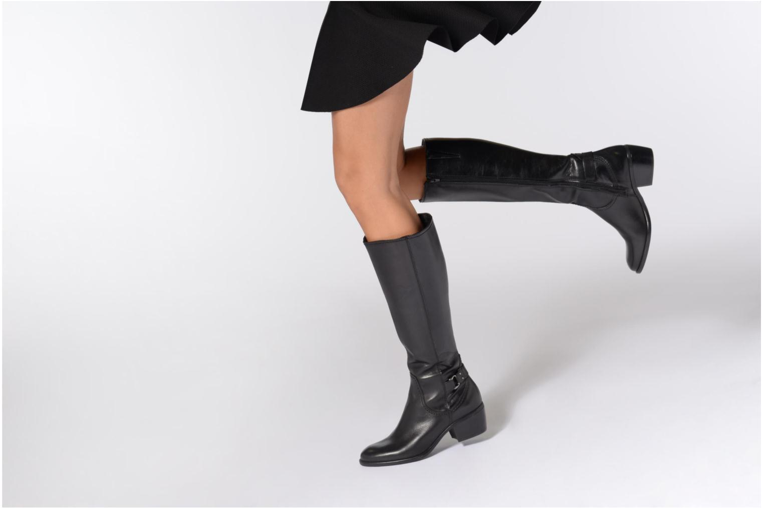 Boots & wellies Tamaris Irmo Black view from underneath / model view