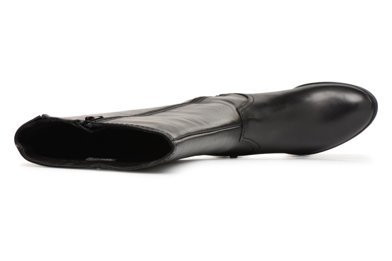 Botas Tamaris Irmo Negro vista lateral izquierda