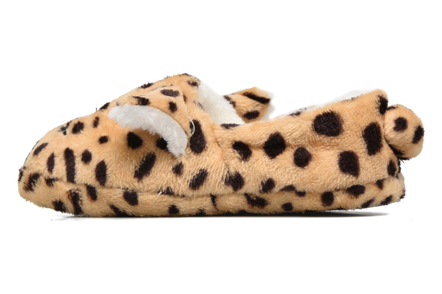 Chaussons Sarenza Wear Chaussons Fille Animal Marron vue face