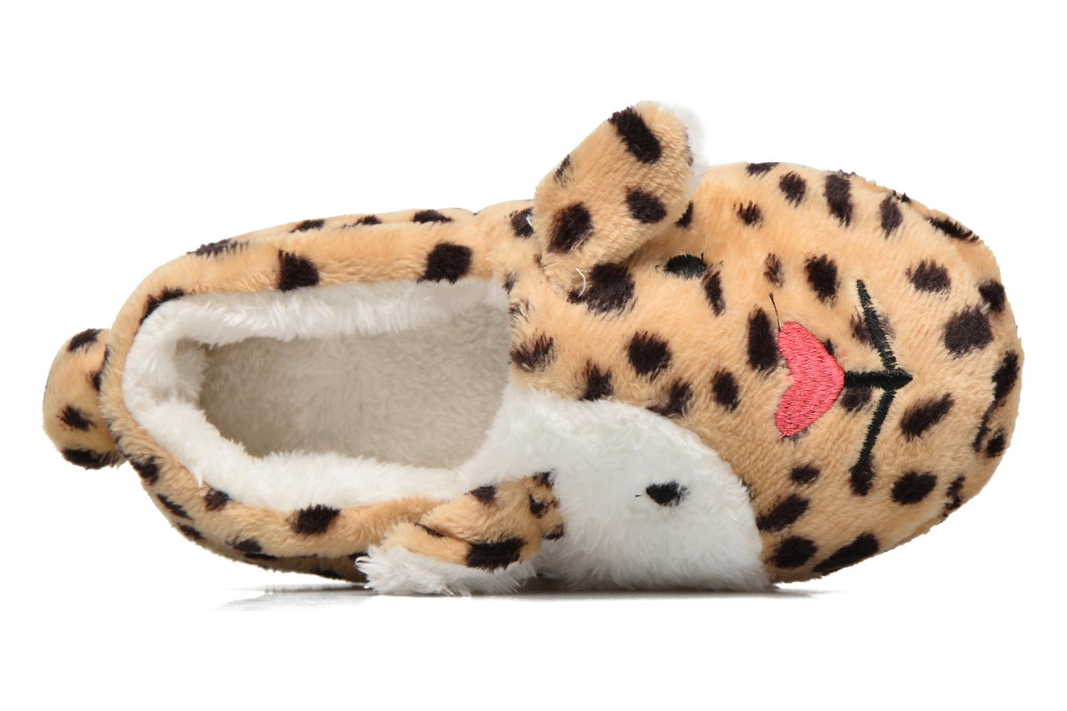 Chaussons Fille Animal Léopard