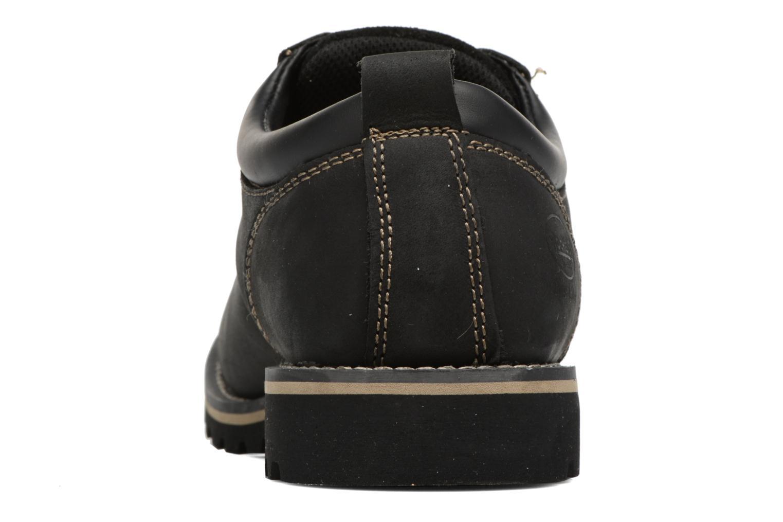Chaussures à lacets Dockers Rolf Noir vue droite