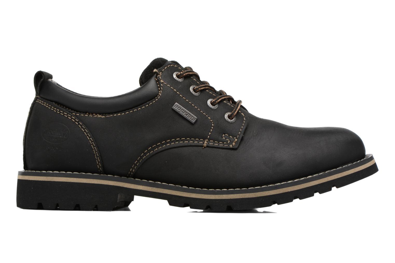 Chaussures à lacets Dockers Rolf Noir vue derrière