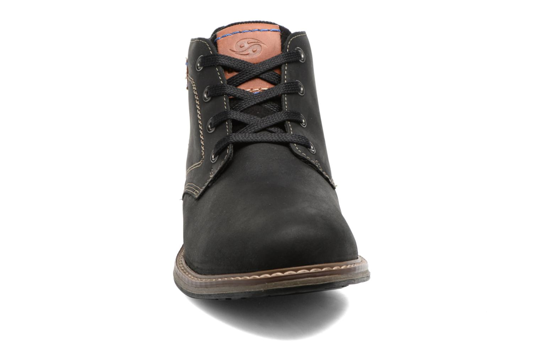 Bottines et boots Dockers Orel Noir vue portées chaussures