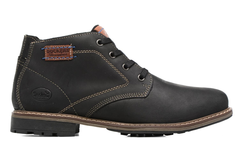 Bottines et boots Dockers Orel Noir vue derrière