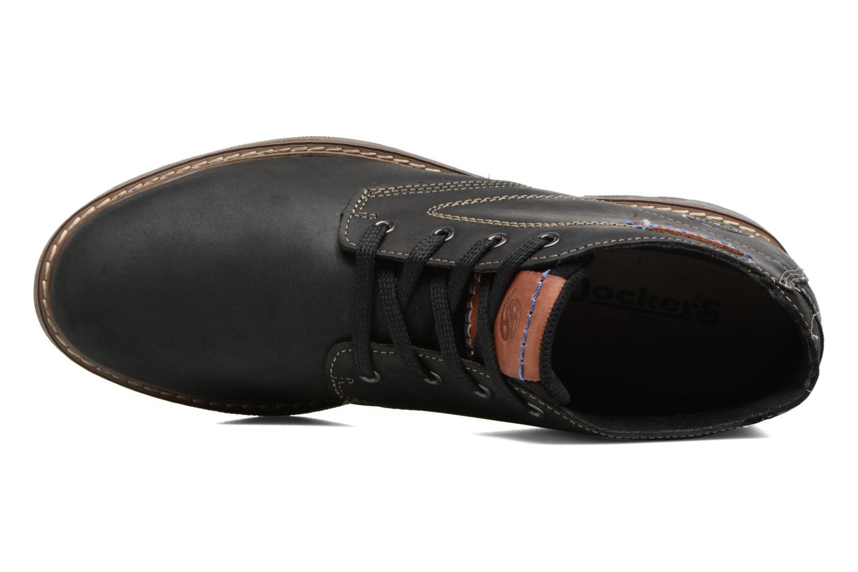 Bottines et boots Dockers Orel Noir vue gauche