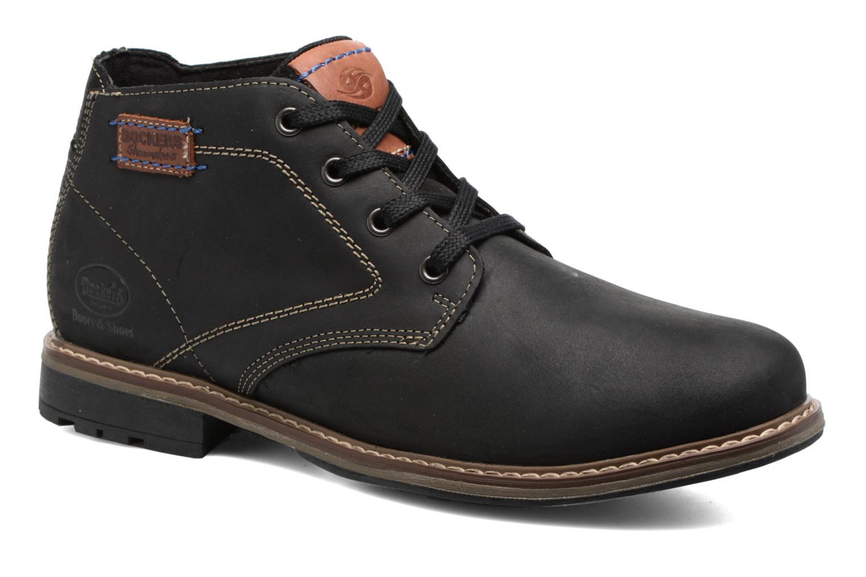 Bottines et boots Dockers Orel Noir vue détail/paire