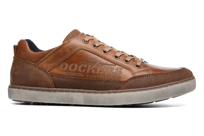 Baskets Dockers Jan Marron vue derrière
