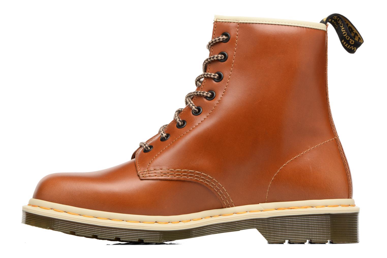 Bottines et boots Dr. Martens 1460 Marron vue face