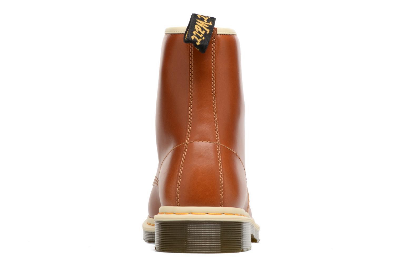 Bottines et boots Dr. Martens 1460 Marron vue droite