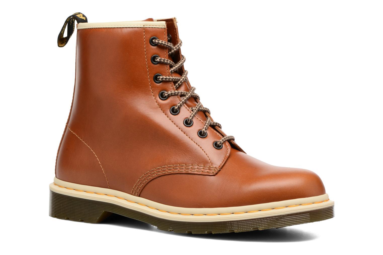 Bottines et boots Dr. Martens 1460 Marron vue détail/paire