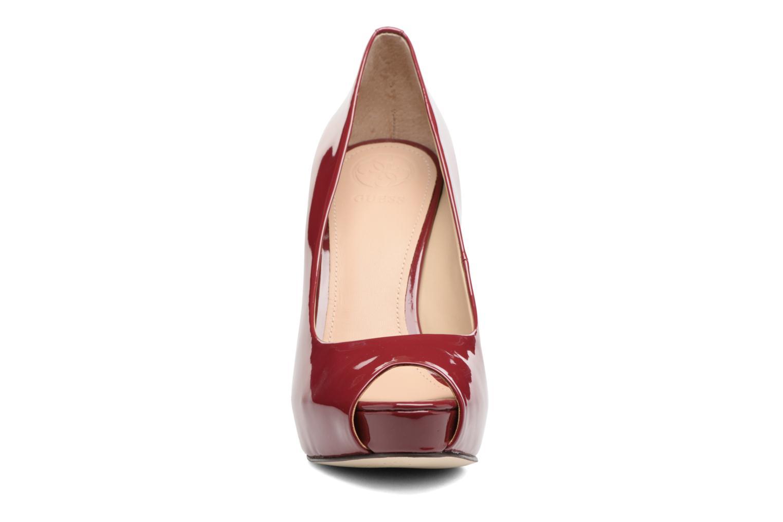 Escarpins Guess HADIE 6 Rouge vue portées chaussures