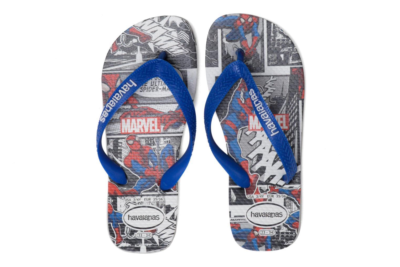 Flip flops Havaianas Top Marvel Blue 3/4 view