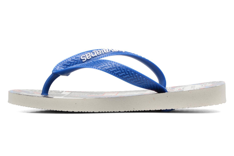 Flip flops Havaianas Top Marvel Blue front view