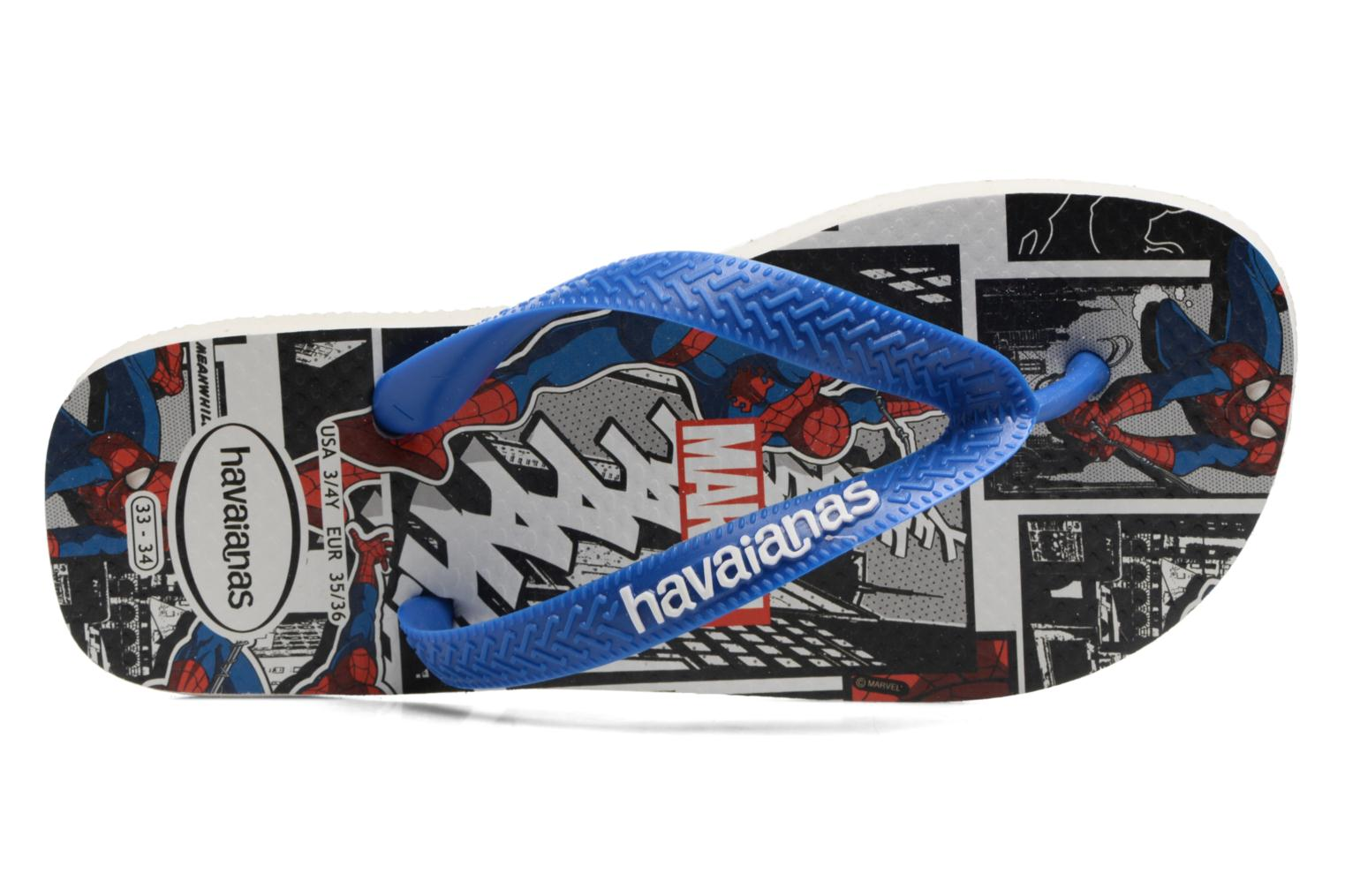 Flip flops Havaianas Top Marvel Blue view from the left
