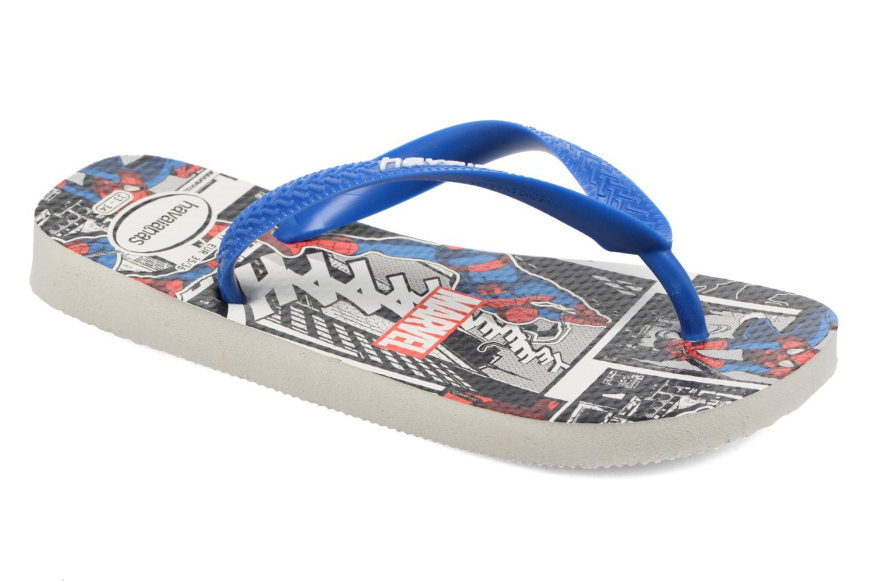 Flip flops Havaianas Top Marvel Blue detailed view/ Pair view