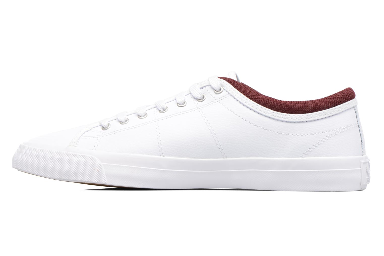 Baskets Fred Perry Kendrick Reversed Tipped Cuff Leather Blanc vue face
