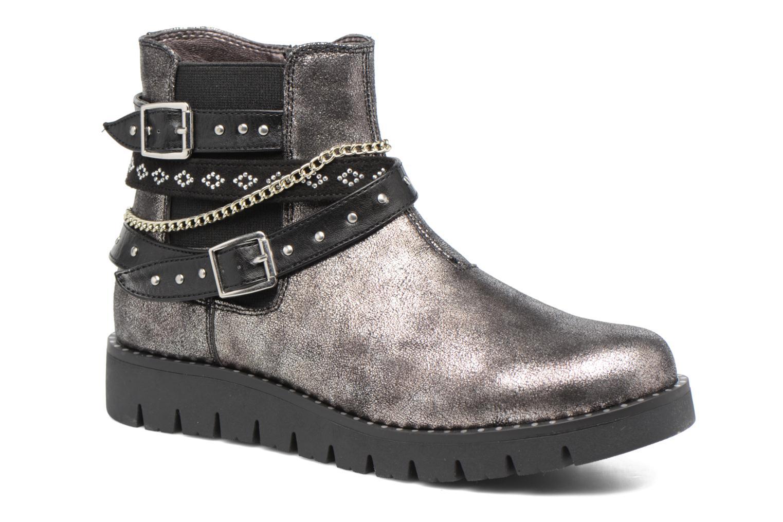Boots en enkellaarsjes ASSO 60156 Grijs detail