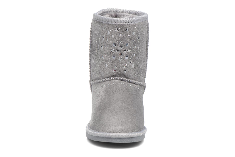 Bottes ASSO 6000 Gris vue portées chaussures