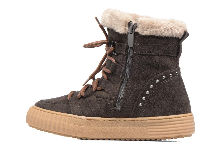 Bottines et boots I Love Shoes SASTIE Marron vue face