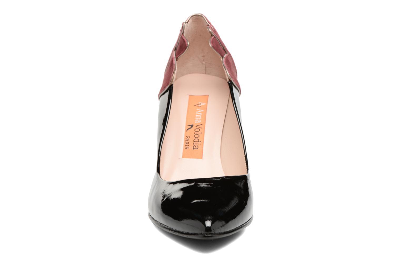 Escarpins Anna Volodia Prado Noir vue portées chaussures