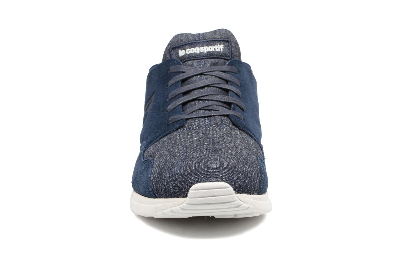 Baskets Le Coq Sportif LCS R Pure Bleu vue portées chaussures