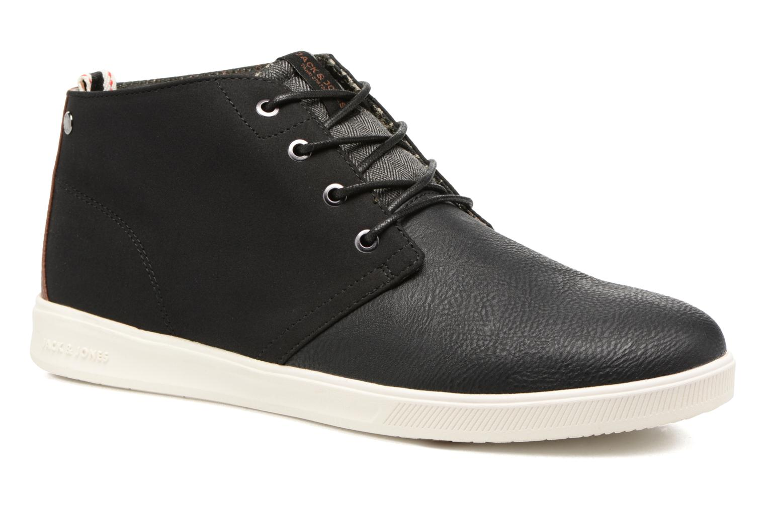 Baskets Jack & Jones JFWDENTON PU MIX Noir vue détail/paire
