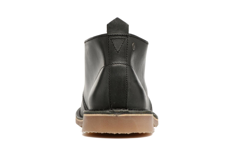 Chaussures à lacets Jack & Jones JFWGOBI LEATHER Noir vue droite