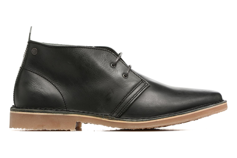Chaussures à lacets Jack & Jones JFWGOBI LEATHER Noir vue derrière