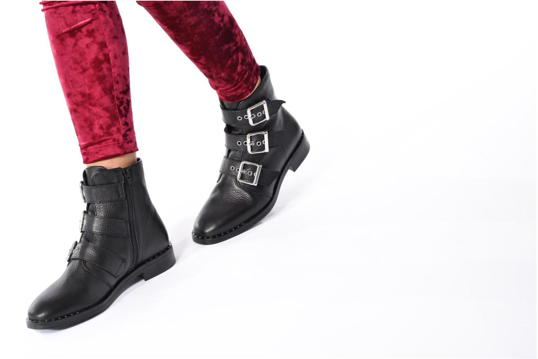 Bottines et boots COSMOPARIS DUMI Noir vue bas / vue portée sac