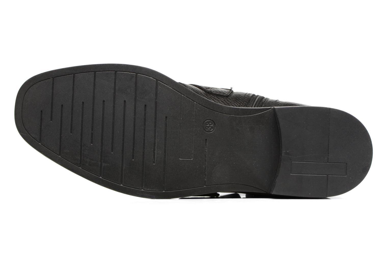Bottines et boots COSMOPARIS DUMI Noir vue haut