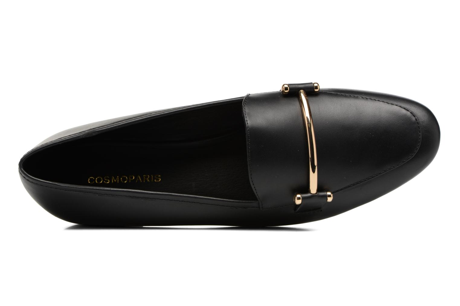 Mocassins COSMOPARIS ENOUA Zwart links
