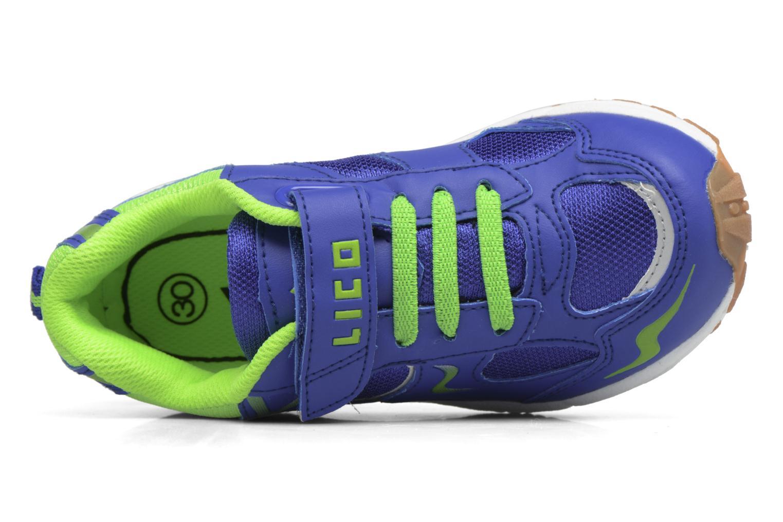 Chaussures de sport LICO Bob Vs Bleu vue gauche