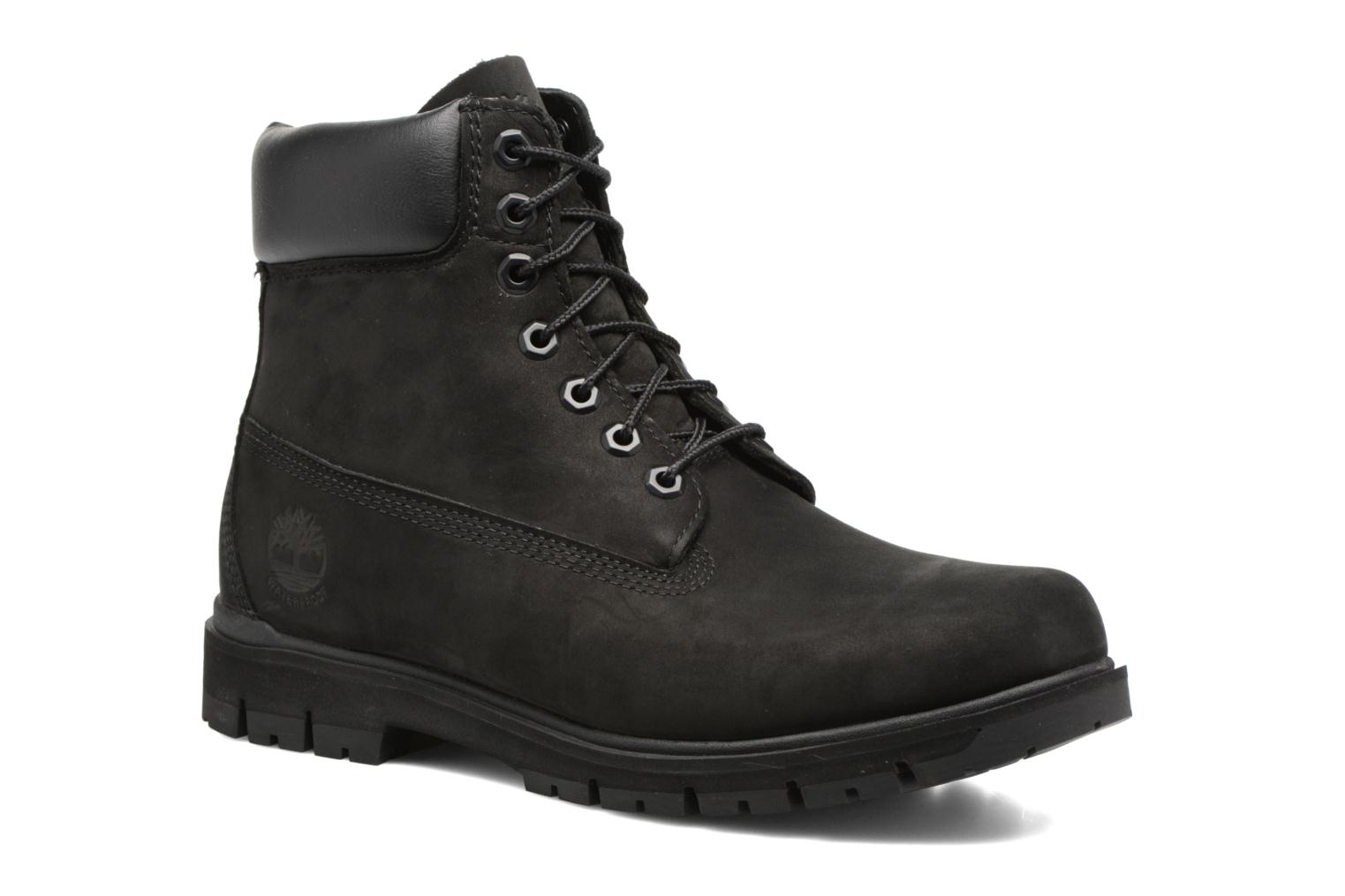 "Radford 6"" Boot WP Black Waterbuck"