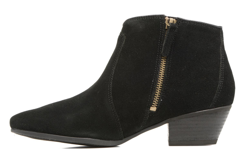 Bottines et boots Timberland Carleton Tassle Boot Noir vue face