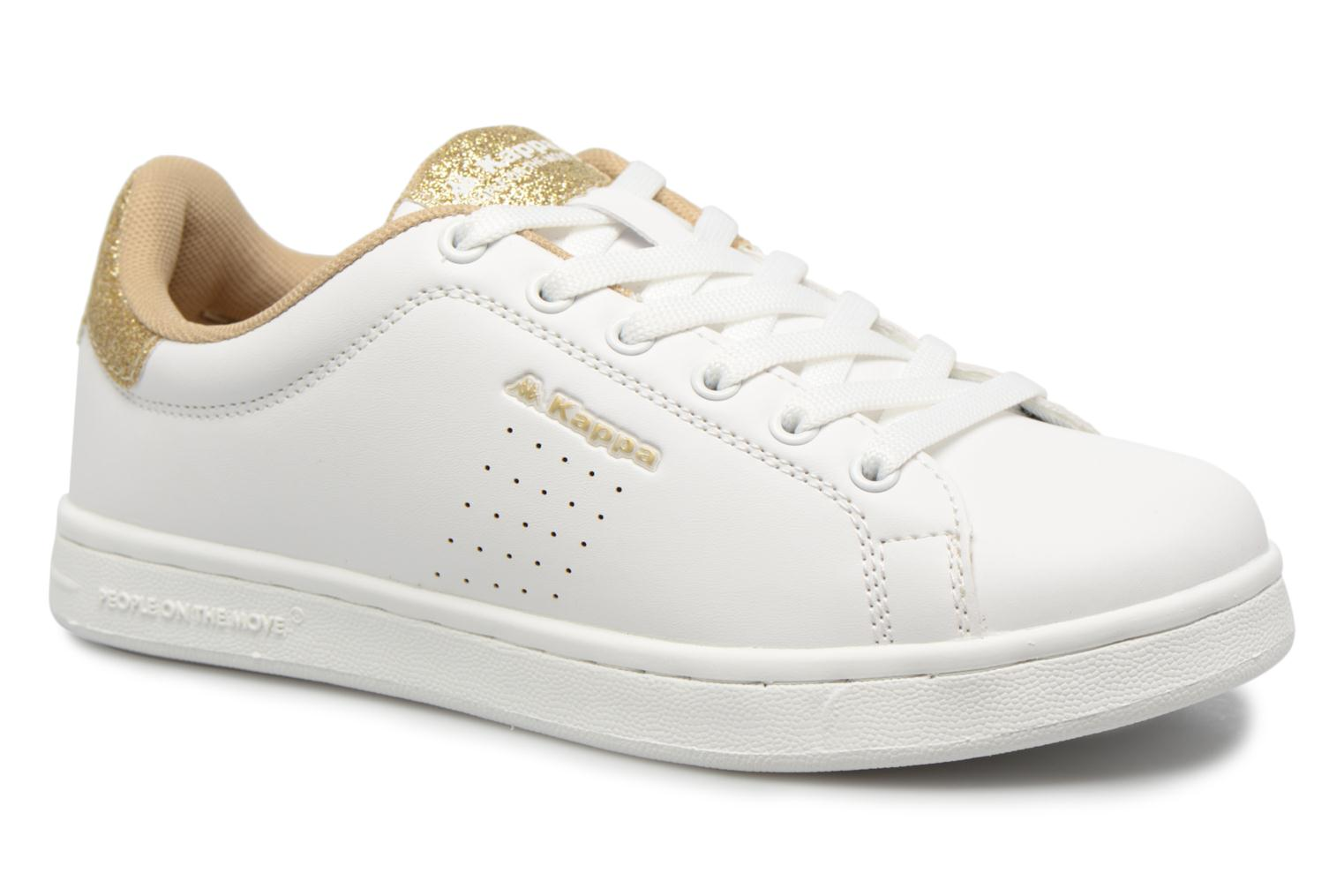 Trainers Kappa Palavela White detailed view/ Pair view