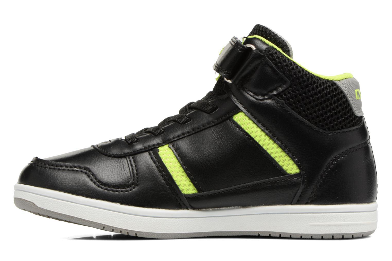 Sneakers Kappa Draver Mid EV Zwart voorkant