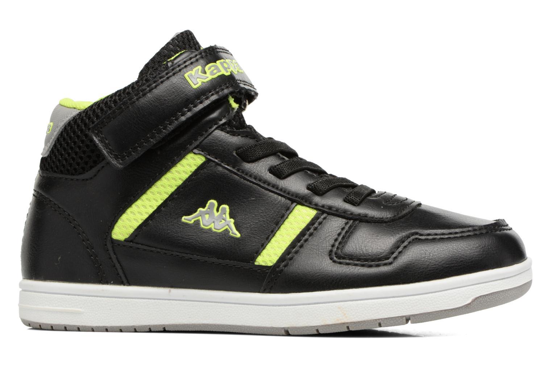 Sneakers Kappa Draver Mid EV Zwart achterkant