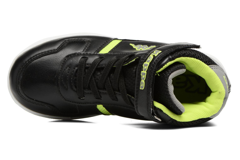 Sneakers Kappa Draver Mid EV Zwart links
