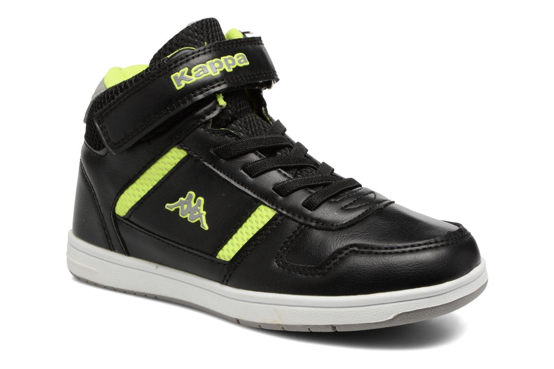 Sneakers Kappa Draver Mid EV Zwart detail