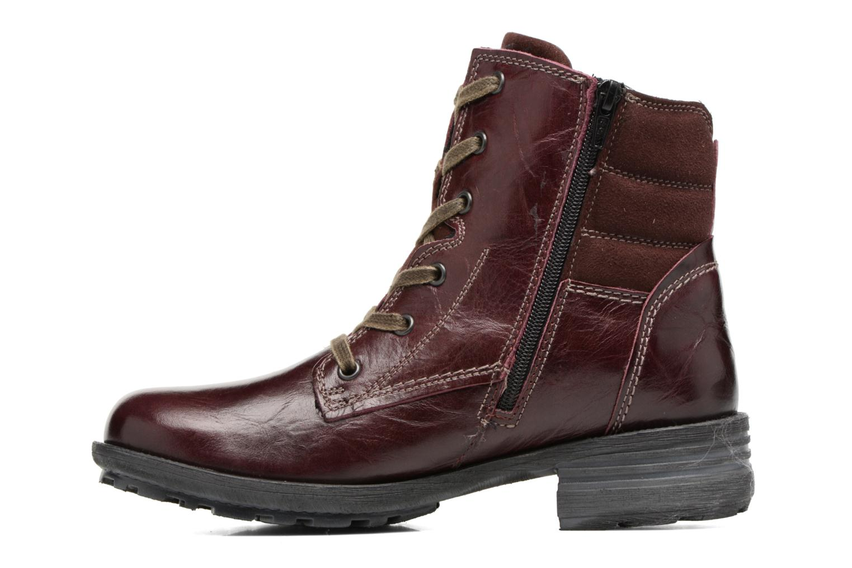 Boots en enkellaarsjes Josef Seibel Sandra 64 Bordeaux voorkant