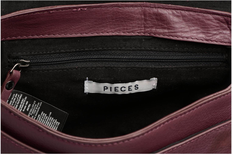 Sacs à main Pieces Joline Leather Crossbody Bordeaux vue derrière