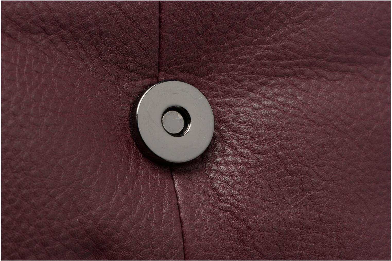 Sacs à main Pieces Joline Leather Crossbody Bordeaux vue gauche
