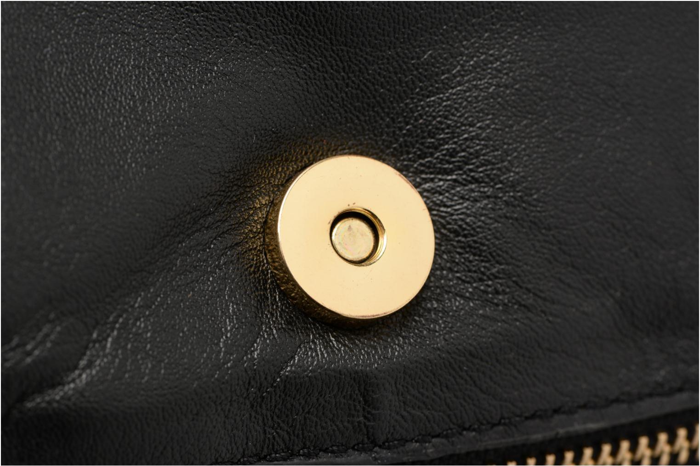 Jase Leather Crossbody Black