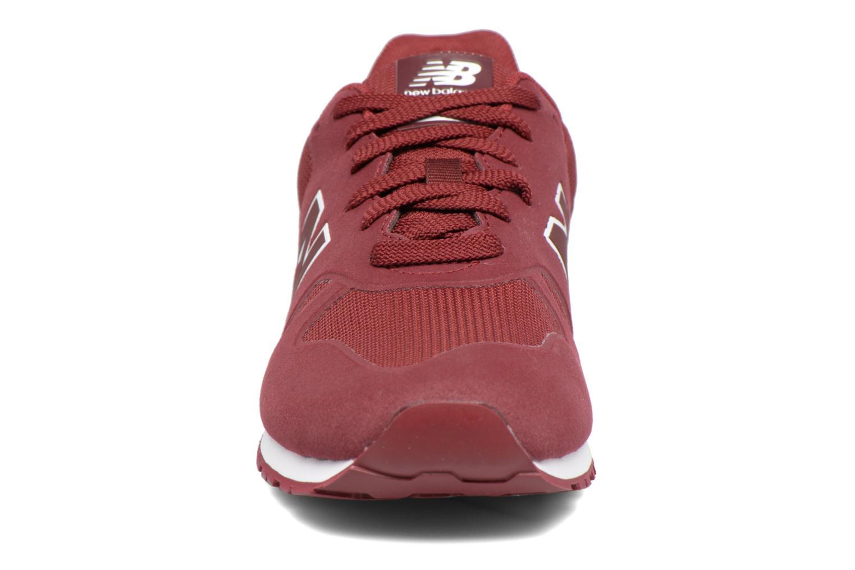 Baskets New Balance KD373 Bordeaux vue portées chaussures