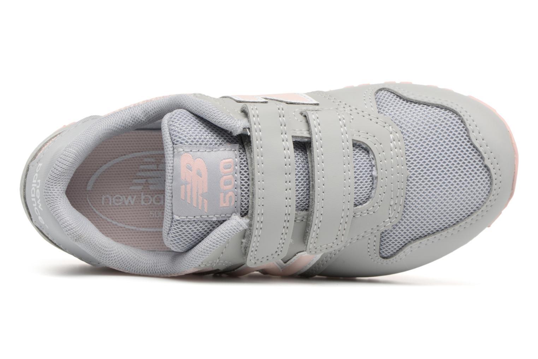 Sneaker New Balance KV500 I grau ansicht von links
