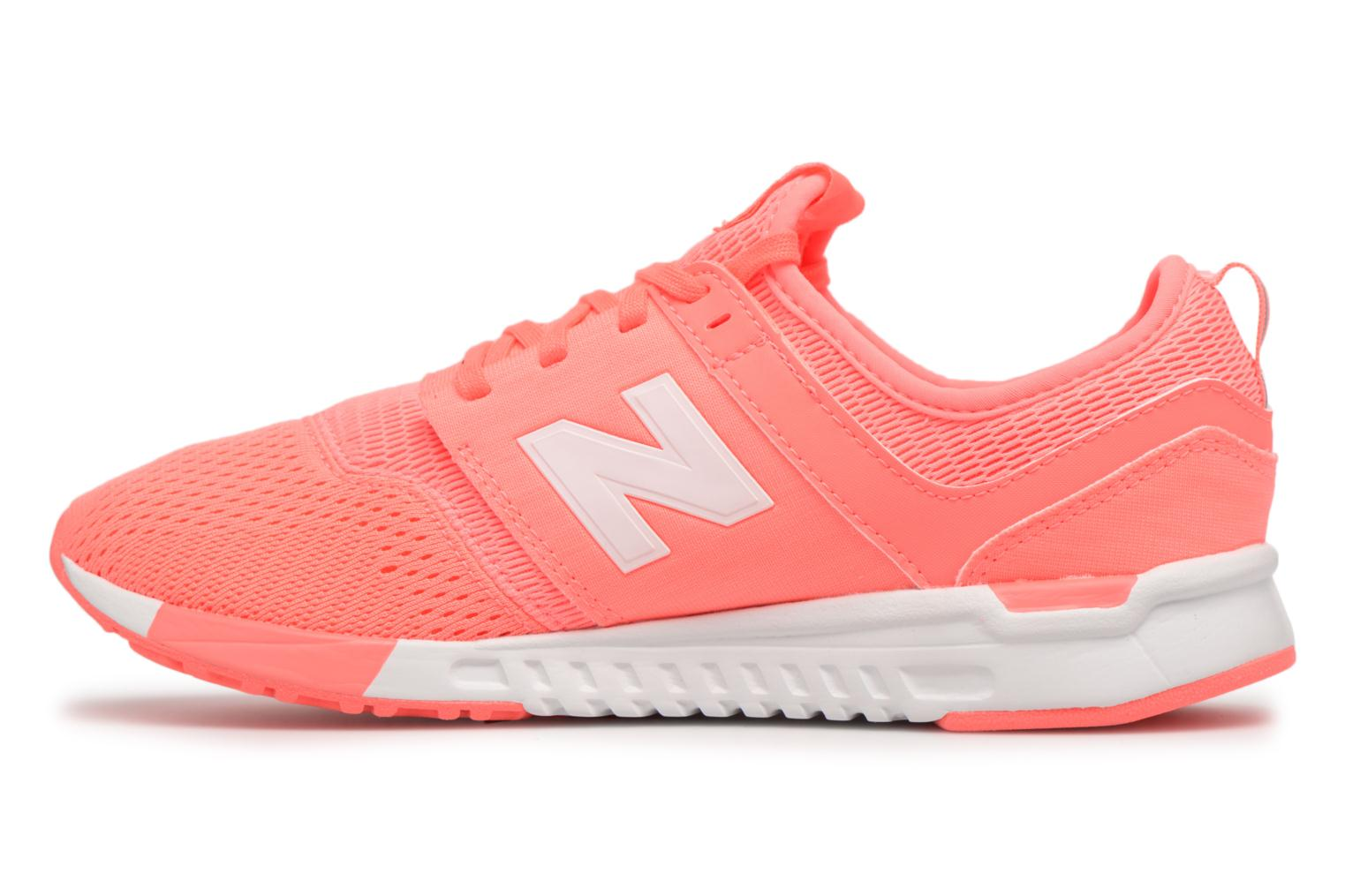 Pink/White New Balance KL247 (Orange)