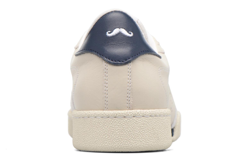 Cuir Blanc M. Moustache Anatole (Blanc)